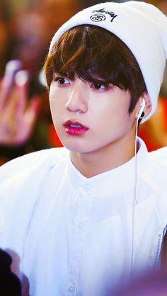 BTS Jungkook #white_beanie