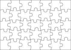 Paper craft puzzle