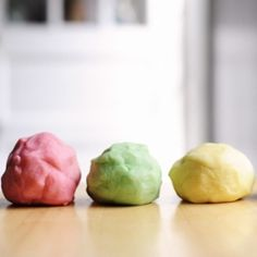 Make your own play dough for the kids.