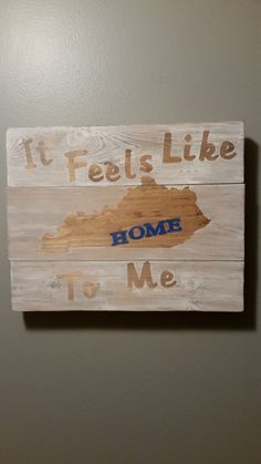 Custom State HOME reclaimed wood art can be any state. By 5oh4Designs on Etsy