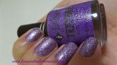 Frescurites Femininas: Jordana Texture - Purple Quartz