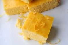 The Healthy Happy Wife: Lemon Pound Cake or Bars (Dairy, Gluten/Grain and Sugar Free)