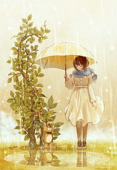 The Art Of Animation, Starry阿星 - . Art And Illustration, Illustration Mignonne, Girls Anime, Anime Art Girl, Art Manga, Manga Anime, Anime Love, Kawaii Anime, Animation