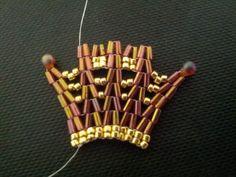 Picture tutorial for this herringbone variation