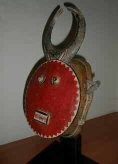 Baule kple masker,collectie jan visser