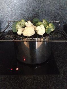Our DIY vegetable steamer Steamer, New Recipes, Cauliflower, Meals, Vegetables, Cooking, Healthy, Diy, Food