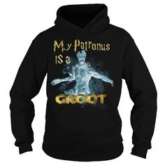 Awesome Tee Patronus Groot T shirts
