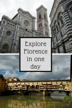 A guide to how to make the most of a day in Florence. Visit Santa Maria Novella, Cattedrale di Santa Maria del Fiore (the cathedral of Florence) and Ponte Vecchio. And eat the best sandwich in Florence on the way. So, go on, take a look and see how you be Travel Destinations Beach, Italy Travel Tips, Europe Travel Guide, Florence In A Day, Florence Italy, Best Places To Travel, Cool Places To Visit, Santa Maria Novella, Things To Do In Italy