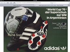 Adidas World Cup 78 - the ultimate boot