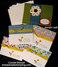 Summer Smooches Card Portfolio card idea, conni stewart, smooch card, connie stewart stampin up, card portfolio, simpl stamp, bright blossom, cards, summer smooch