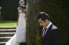 Prina and Bhav at Danesfield House June 2013.  Photography by Eye Imagine
