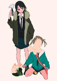 Character Drawing, Character Illustration, Illustration Art, Pretty Art, Cute Art, Cartoon Art Styles, Kawaii Art, Art Reference Poses, Character Design Inspiration