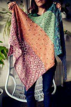 Ravelry: Pastel Gemstones Shawl pattern by AbbyeKnits