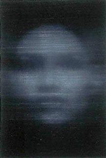 Dark Grey Girl, oil on canvas, Alison van Pelt