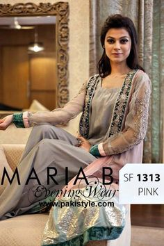 Party Wear Eid Collection 2013 For Women By Maria B (6)