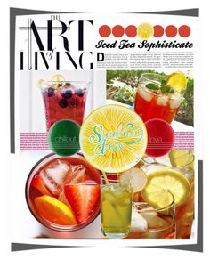 Iced Tea by shellysioux on Polyvore featuring art Iced Tea, Polyvore, Art, Craft Art, Ice T, Kunst, Gcse Art, Art Education Resources