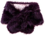 Rosie Fox's beautiful faux fur stole is a must in luxe style. A fashionable statement stole easily be accessorized with a striking Rosie Fox brooch. Available in other colors, this is an accessory that will never be out of style.