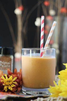 #paleomg #paleo Pumpkin Pie Protein Smoothie