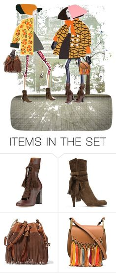 """""""Deep in Conversation"""" by diannecollier ❤ liked on Polyvore featuring art"""