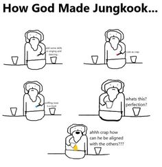 Army Jokes, Army Humor, Best Friend Quotes Funny, Funny Quotes, Jin Dad Jokes, Bts Facts, Kpop Memes, Bts Imagine, Bts Book