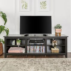 online shopping for WE Furniture 70 Espresso Wood TV Stand Console Flat Screen TV's Up 50 Entertainment Center from top store. See new offer for WE Furniture 70 Espresso Wood TV Stand Console Flat Screen TV's Up 50 Entertainment Center Tv Stand Decor, Diy Tv Stand, Tv Stand Console, Console Shelf, Console Table, Design Stand, Tv Stand Designs, Table Designs, Living Room Tv