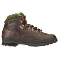 The classic Timberland Euro Hikers are the perfect men's boots for warmer-weather hikes and everyday adventures in outdoor-ready style. Best Hiking Pants, Mens Hiking Boots, Leather Hiking Boots, Hiking Gear, Timberland Euro Hiker, Timberland Classic, Timberland Mens, Timberland Boots Outfit, Timberlands
