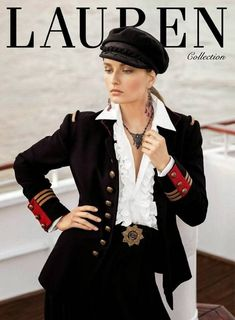 Chic and military look for Ralph Lauren FW 2013 14