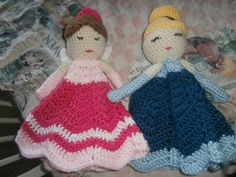 Crocheted baby blanket doll. Crocheted your way. by ArtbySethHouse