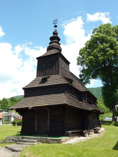 Rusky Potok wooden church - June 2014