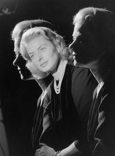 Ingrid Bergman by Studio Harcourt, 1957.
