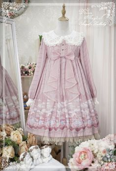 Dream Magical -Angel's Lullaby- Sweet Lolita OP Dress