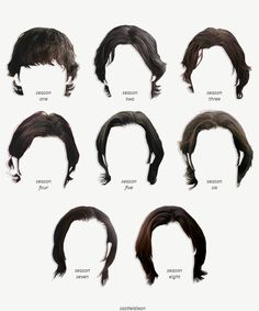 Sam Winchester's hair: Seasons 1-8