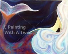 Private Birthday Party for Jessica-Mermaid Goddess - St. Petersburg, FL Painting Class - Painting with a Twist