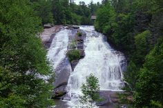 DuPont State Forest Waterfalls near Asheville, NC