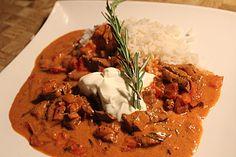 Rindergeschnetzeltes mit Paprika, ein tolles Rezept aus der Kategorie Gemüse. Bewertungen: 5. Durchschnitt: Ø 4,1.