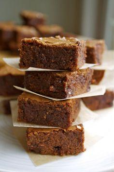 Gluten Free Dark Chocolate Brownies | In Pursuit of More