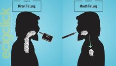 What is the difference between Mouth to Lung (MTL) and Direct to Lung (DTL) vaping? What kind of vaper are you? We answer the question with our vaping guide. Vape Facts, Vape Memes, How To Do Vape Tricks, Vape Coil Builds, Vape Online, Smoke Tricks, Juul Vape, Vape Smoke, Fitness Workout For Women