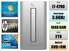 PRODUCT DETAILS : A powerful high performance HP ENVY desktop PC offer by dealz-4all is a total solution for your personal and professional needs.Intel(R) Core(TM) i7-4790 processor quad-core [3.6GHz, 8MB [ ]