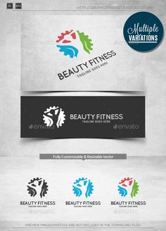 Beauty Fitness  Logo Template — Vector EPS #leg #logotype • Available here → https://graphicriver.net/item/beauty-fitness-logo-template/10820023?ref=pxcr