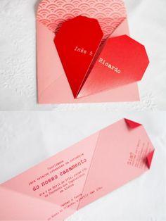 ADORO: Convite // wedding invitation // Japan inspiration // Origami: