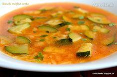 Cuketová polievka - Recept