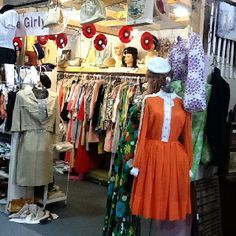 Clothing Booth Set Up Ideas | Neat Vintage Clothing and accessories in booth 76 at the Brass ...