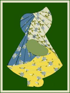 Iris Folding: Make an Iris Folded Sunbonnet Sue