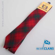 MacNab Modern Tartan Tie. worldwide shipping available