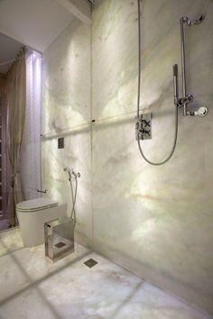 Translucent Onyx Wall & Floor