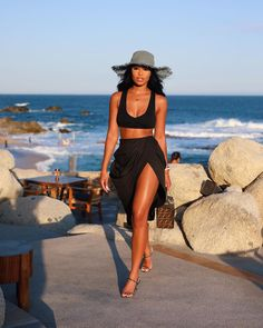 Black Girl Fashion, Look Fashion, 70s Fashion, Vintage Fashion, Girl Outfits, Cute Outfits, Fashion Outfits, Vacation Outfits, Summer Outfits