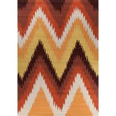 Found it at Temple & Webster - Chevron Ikat Rug