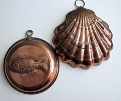 vintage copper molds