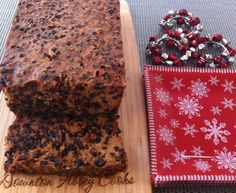 Christmas is time for fruitcake. The best fruitcake is made with love ...