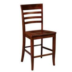 Capri Bar Stool - Specializing In Custom American Made Furniture Since 1969 Cottage Furniture, Amish Furniture, Kitchen Furniture, Furniture Making, Dining Stools, Counter Stools, Bar Stools, Cottage Homes, Craftsman